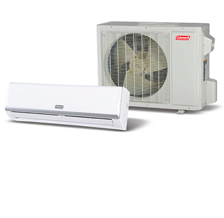 coleman ductless mini split heat pumps and air conditioners