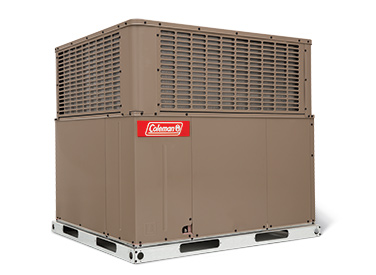 coleman packaged heating and cooling units