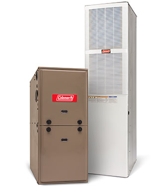 coleman manufactured furnaces and air conditioners