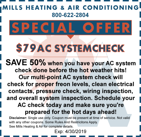 AC SYSTEM CHECK SPECIAL OFFER APRIL