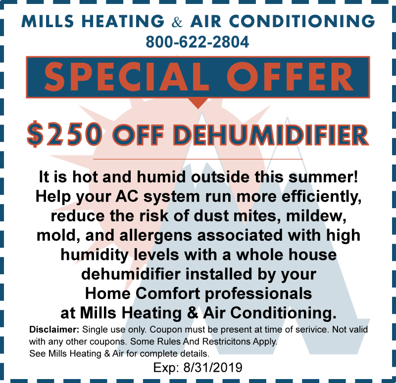 HUMIDIFIER SPECIAL OFFER COUPON AUGUST