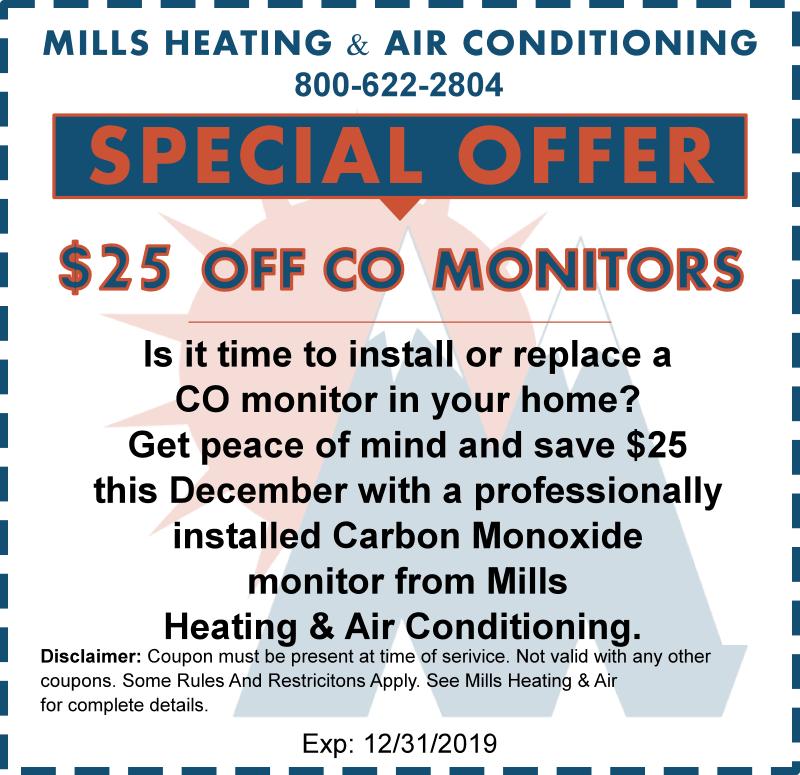 carbon monoxide discount coupon december 2019