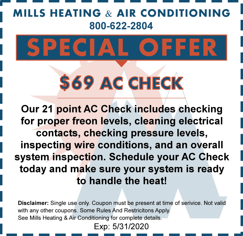 may 2020 ac tune up hvac system check discount coupon