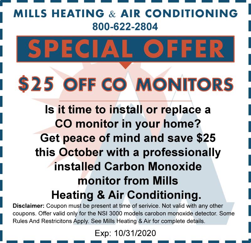 october 2020 carbon monoxide special offer discount coupon